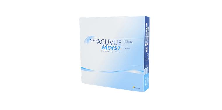 Lentilles de contact 1 Day Acuvue Moist 90L