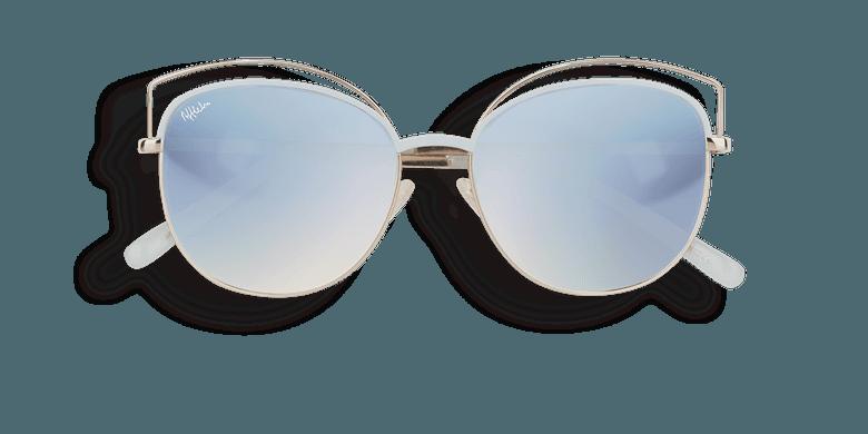Gafas de sol mujer BETTY azul/dorado