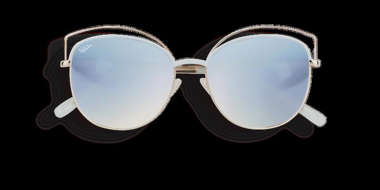 Óculos de sol senhora BETTY azul/dourado