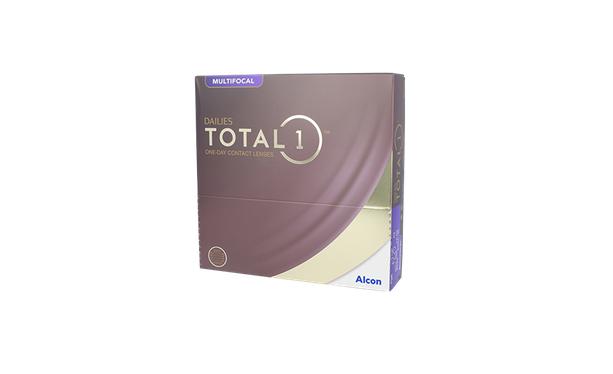 Lentilles de contact Dailies Total 1 Multifocal 90L - Vue de face