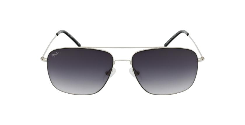 Óculos de sol homem ANDILLA SL prateado - Vista de frente