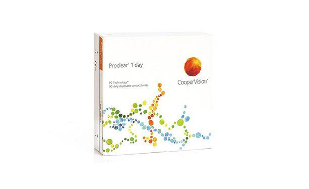 Lentilles de contact Proclear® 1day 90L - Vue de face