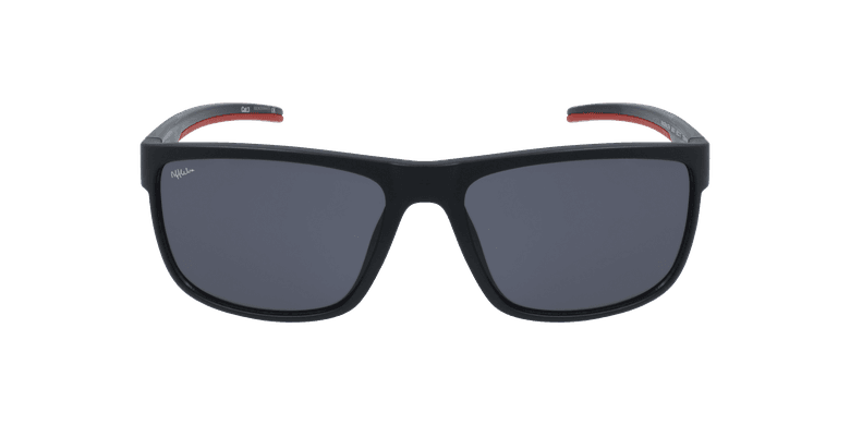 Óculos de sol homem BAILEN BK preto/vermelho