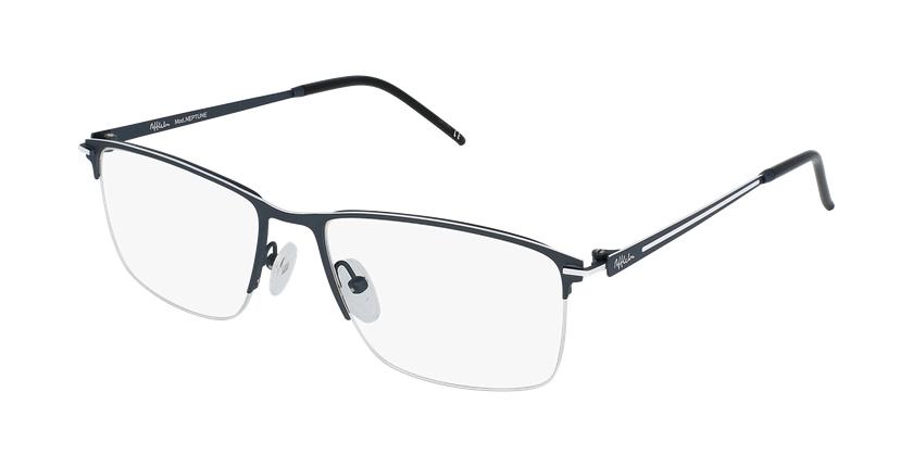 Óculos graduados homem URANUS BL01 azul - vue de 3/4