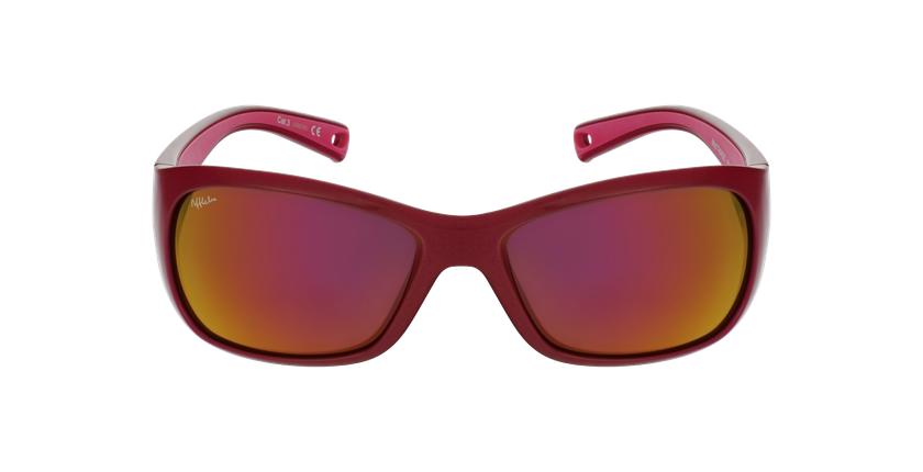 Óculos de sol criança THIAGO POLARIZED PK rosa - Vista de frente
