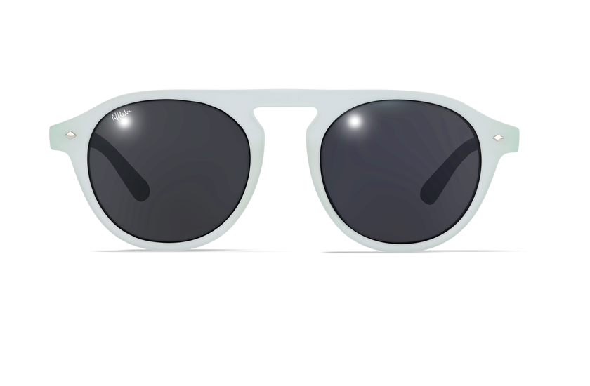 Gafas de sol mujer ACAPULCO verde - danio.store.product.image_view_face