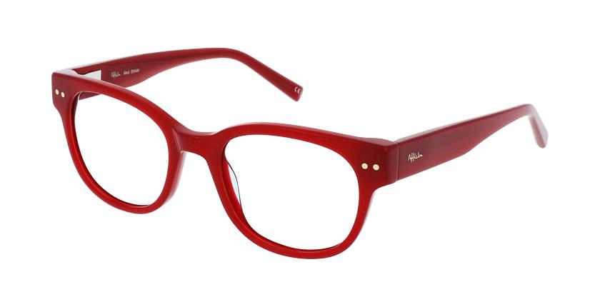 Óculos graduados senhora SWAN RD (TCHIN-TCHIN +1€) vermelho - vue de 3/4