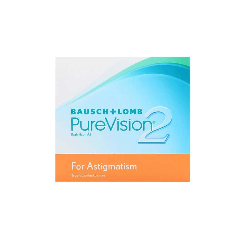 Lentilles de contact PureVision 2 HD for Astigmatism 6L