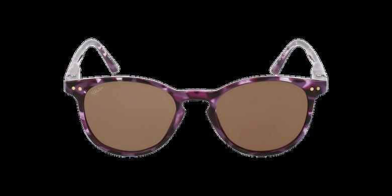 Óculos de sol criança FELIZ TOPU tartaruga/violetaVista de frente