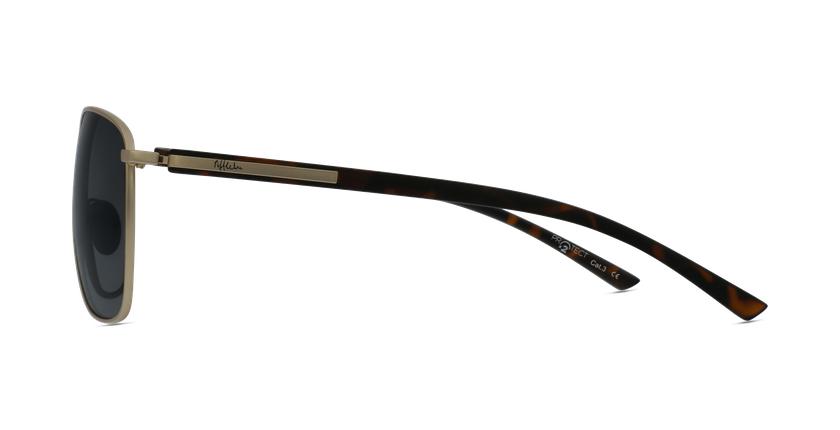 Óculos de sol homem ENEKO GD dourado/tartaruga  - Vista lateral