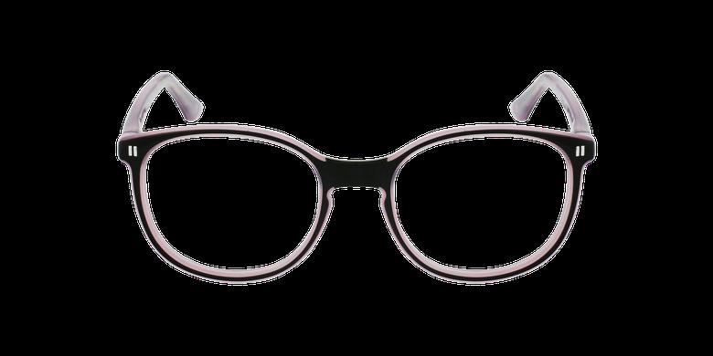 Óculos graduados criança REFORM TEENAGER (J5 BKPK) preto/violetaVista de frente