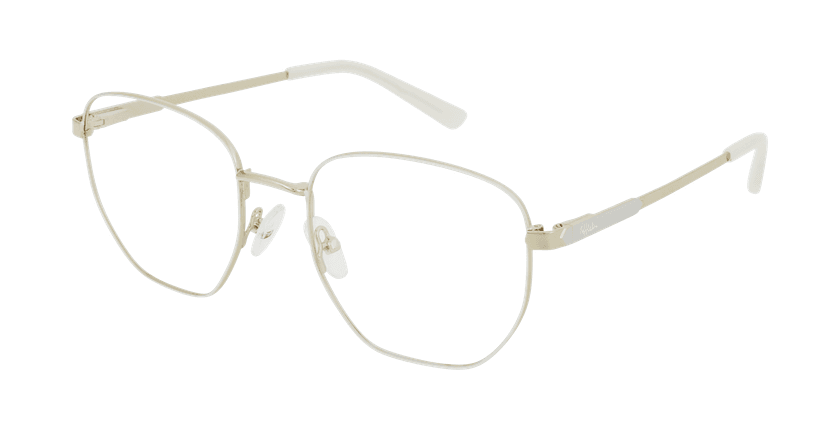 Óculos graduados senhora ERIN WH (TCHIN-TCHIN +1€) branco - vue de 3/4