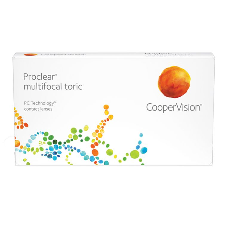 Lentilles de contact Proclear® Multifocal Toric 3L