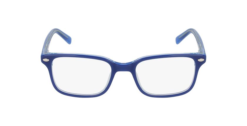 Óculos graduados criança Eddie bl (tchin-Tchin +1€) azul - Vista de frente