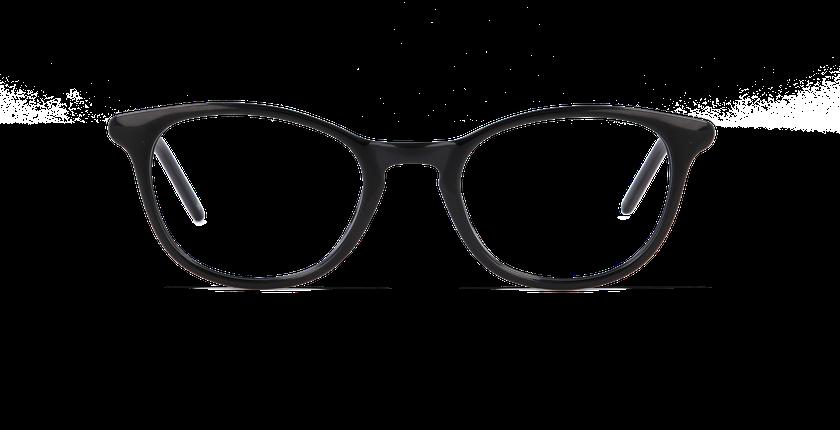 Lunettes de vue femme SOPHIE noir - vue de face
