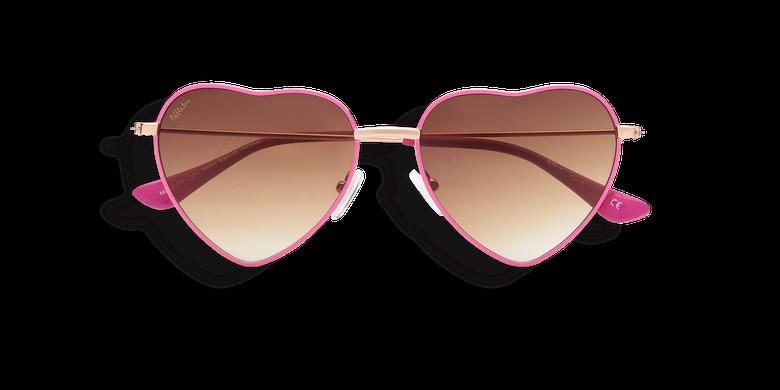 Óculos de sol senhora CORAZON (Tchin-Tchin +1€) rosa