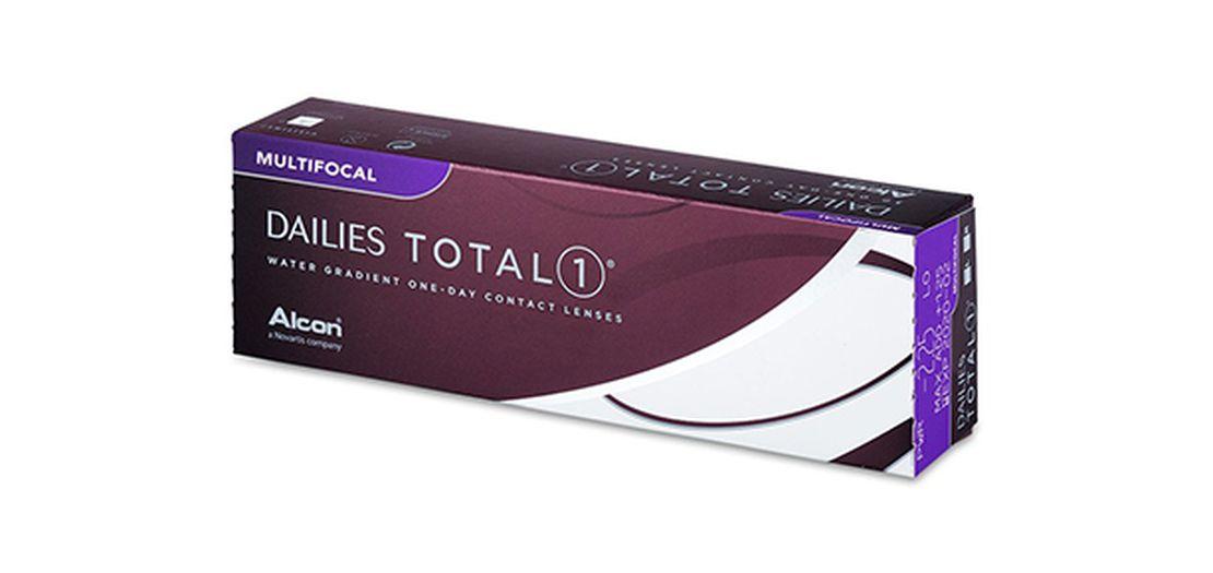 Lentilles de contact Dailies Total 1 Multifocal 30L
