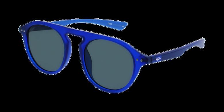 Lunettes de soleil BORNEO bleu/bleu