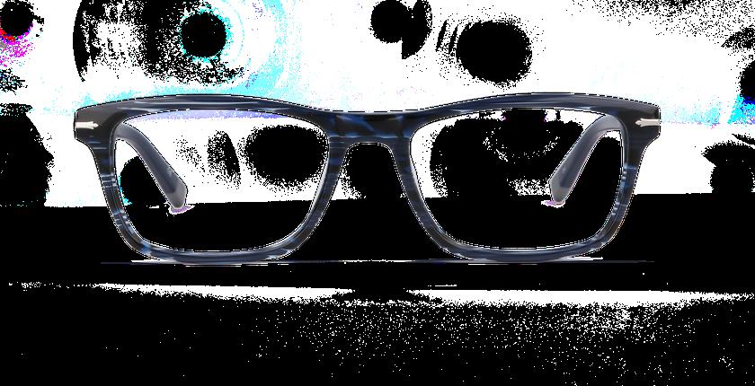 Lunettes de vue homme REGENT bleu - vue de face