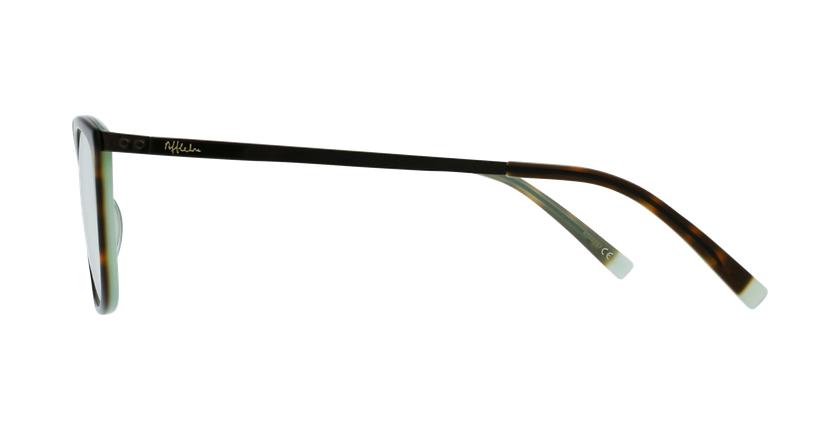 Lunettes de vue femme BEETHOVEN écaille/noir - Vue de côté