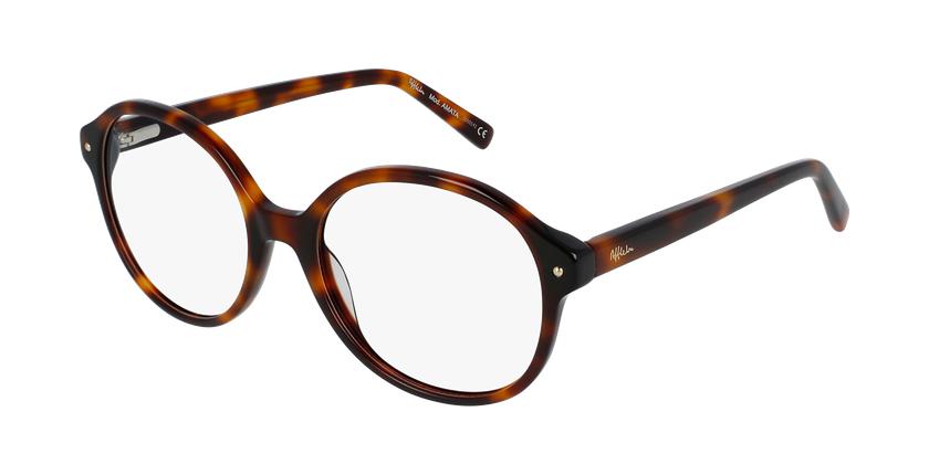 Óculos graduados senhora Amata to (Tchin-Tchin +1€) tartaruga  - vue de 3/4