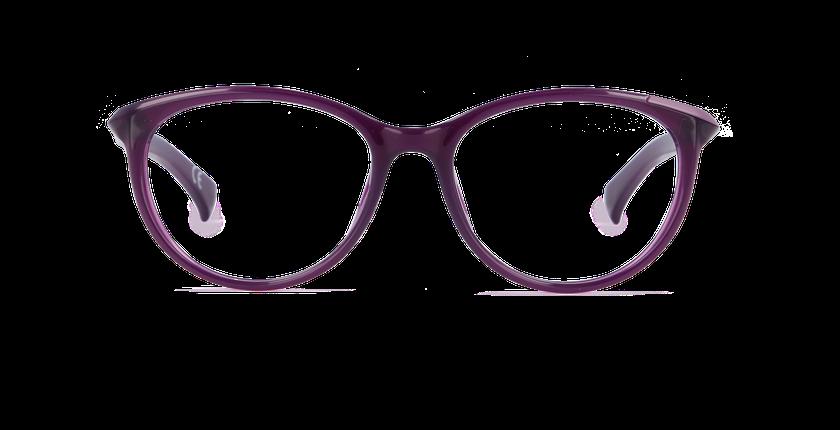 Gafas graduadas mujer CALVIN KLEIN JEANS morado - vista de frente