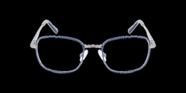 Lunettes de vue homme RENALD bleu/grisVue de face