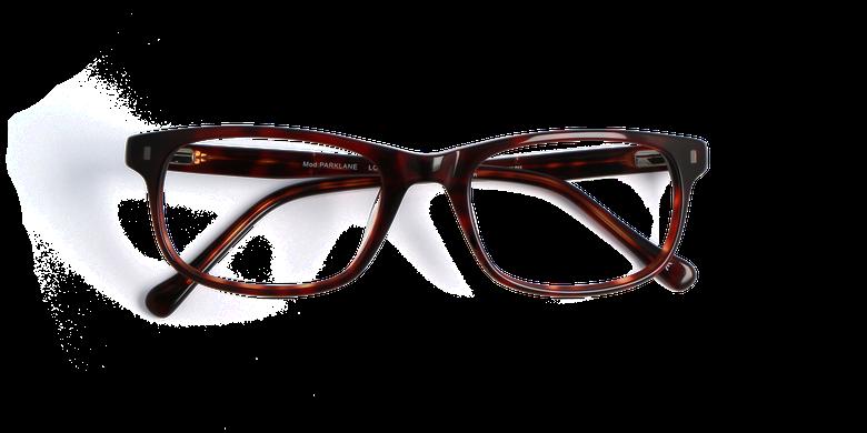 Gafas graduadas hombre PARKLANE carey/rojo