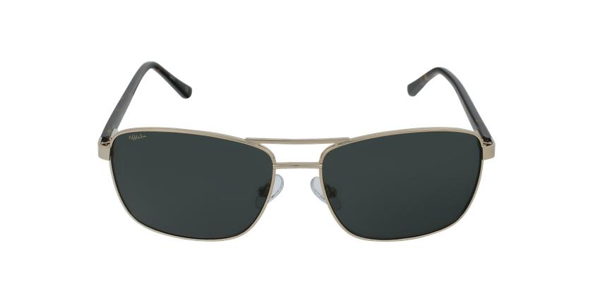 Óculos de sol homem AMIR GD dourado - Vista de frente