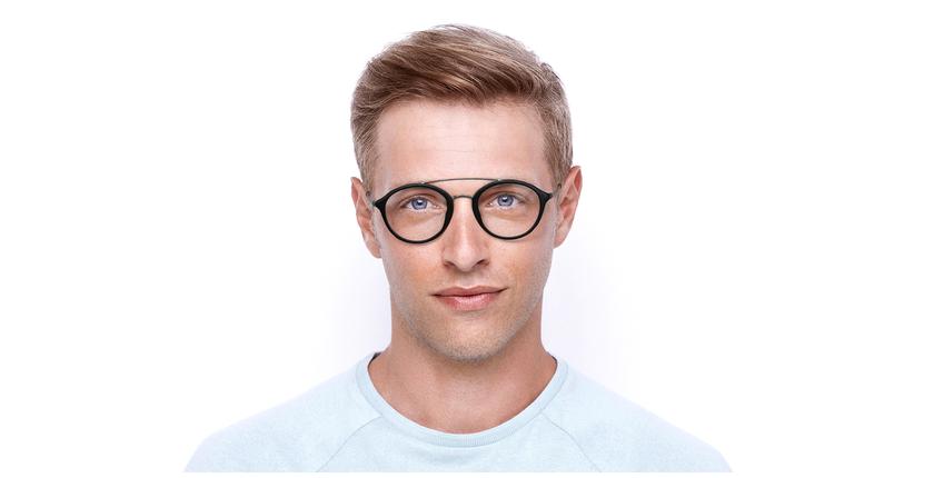 Lunettes de vue ROSSINI noir - Vue de face