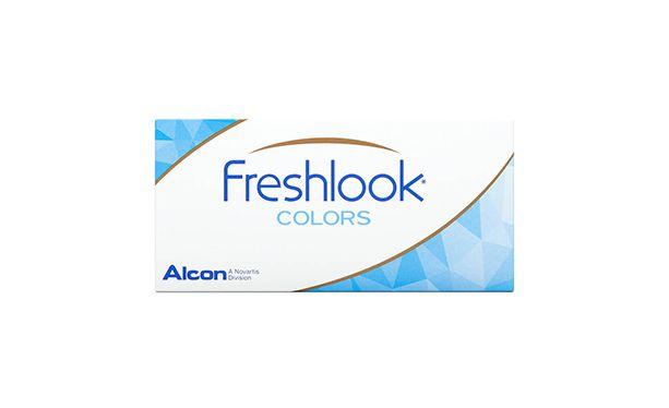 Lentilles de contact FreshLook Colors Green 2L - Vue de face
