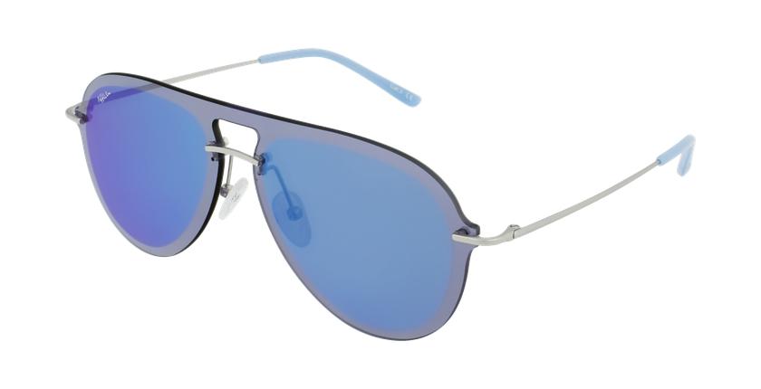 Óculos de sol WAIMEA SLBL prateado/azul - vue de 3/4