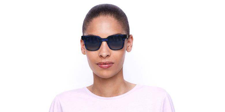 Óculos de sol senhora KAREN TOBL tartaruga/azul