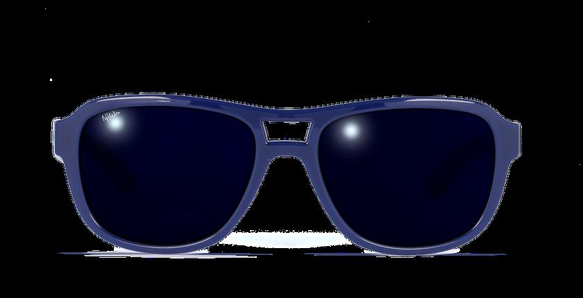 Gafas de sol niños ROCKA azul - vista de frente