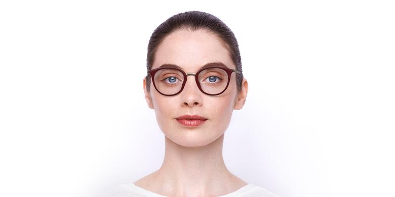 Óculos graduados STRAWINSKI RD vermelho