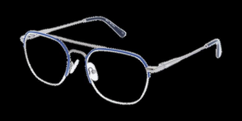Lunettes de vue homme WILLY bleu/gris