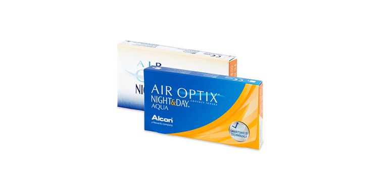 Lentes de contacto Air Optix Aqua Night Day 6L