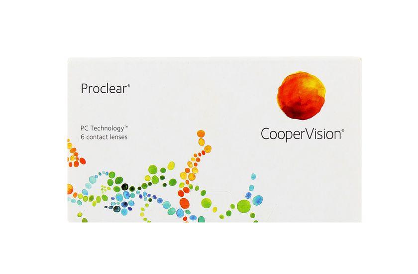 Lentilles de contact Proclear® Sphère - Boîte de 6 - vue de face