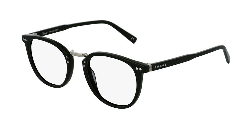Óculos graduados BACH BK preto - vue de 3/4