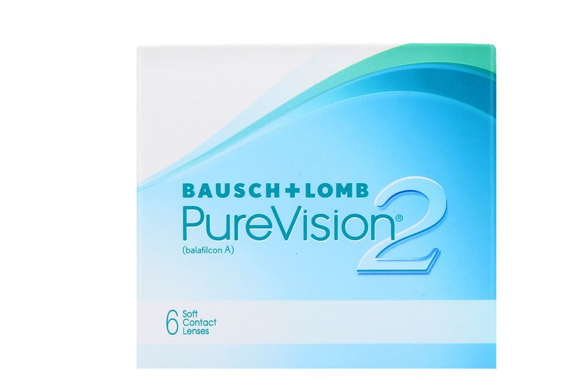Lentilles de contact PureVision 2 HD 6L - vue de face