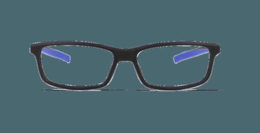 Lunettes de vue homme ALBERTO noir - Vue de face