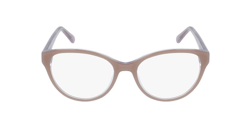 Óculos graduados senhora OAF20521 BR (TCHIN-TCHIN +1€) castanho - Vista de frente