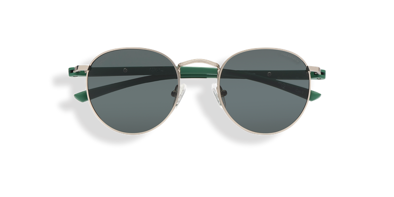 Óculos de sol MOE POLARIZED prateado/verde