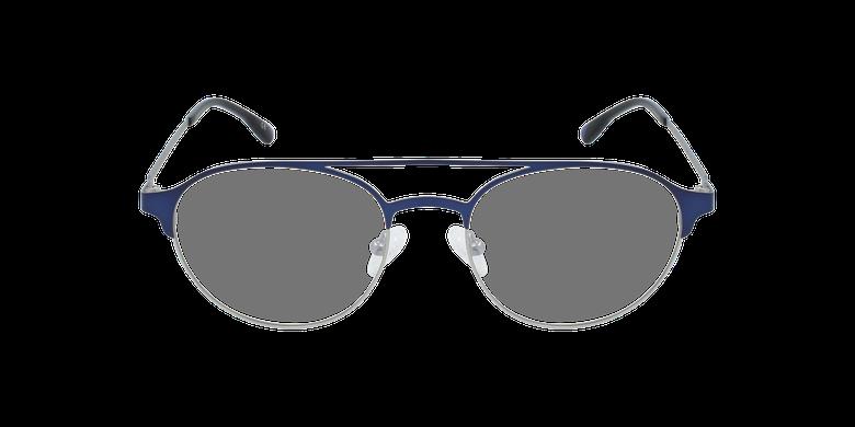 Óculos graduados homem MAGIC 52 BLUEBLOCK - BLOQUEIO LUZ AZUL azul/prateado