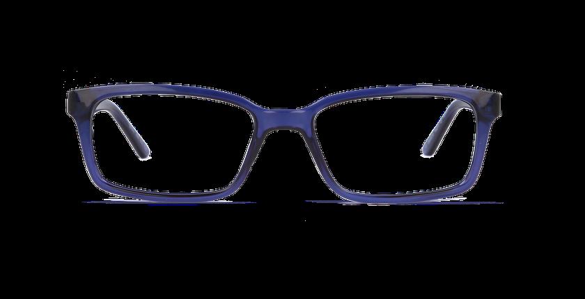 Lunettes de vue homme YAEL bleu - vue de face