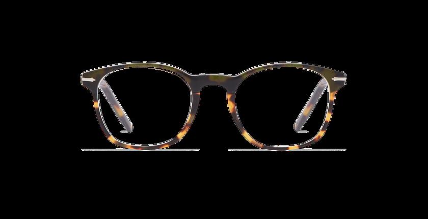 6d3afbd1f4ae0 ... Óculos graduados homem LONGCHAUMOIS verde tartaruga - Vista de frente  ...