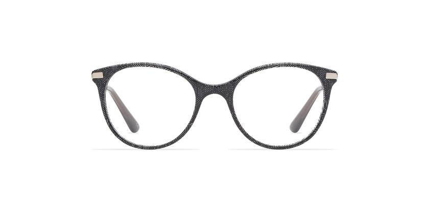 Lunettes de vue enfant ALINE noir - Vue de face