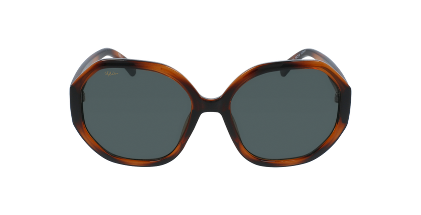 Óculos de sol senhora AURORA TO01 tartaruga  - Vista de frente