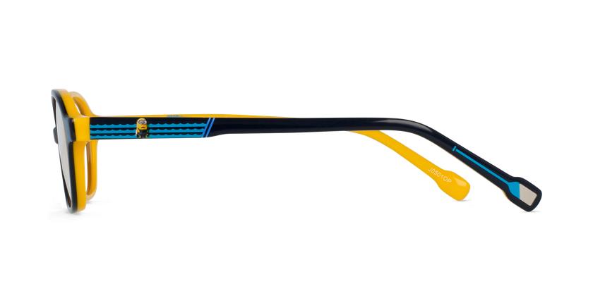 Lunettes de vue enfant BOAT bleu/jaune - Vue de côté