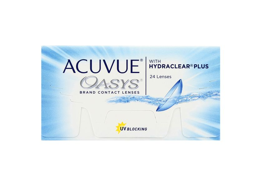 Lentilles de contact Acuvue® Oasys® with Hydraclear® Plus 24L - danio.store.product.image_view_face